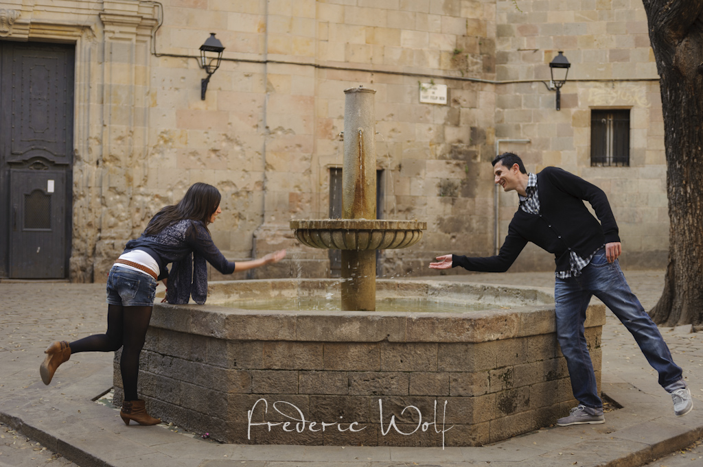 Preboda en Barcelona - Engagement session in Barcelona