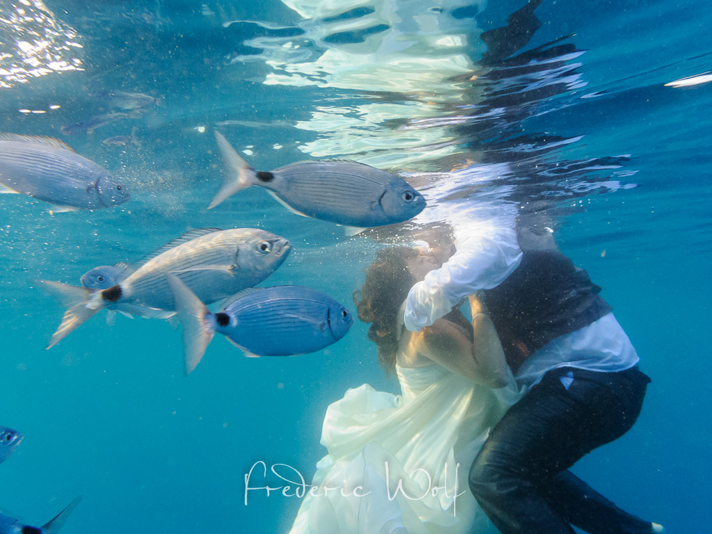 postboda illes medes - trash the dress - frederic wolf - montse wolf -wolf photographers