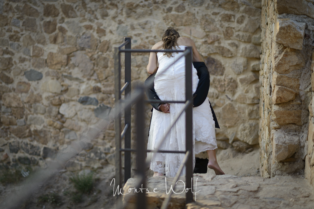postboda - tossa de mar - trash the dress