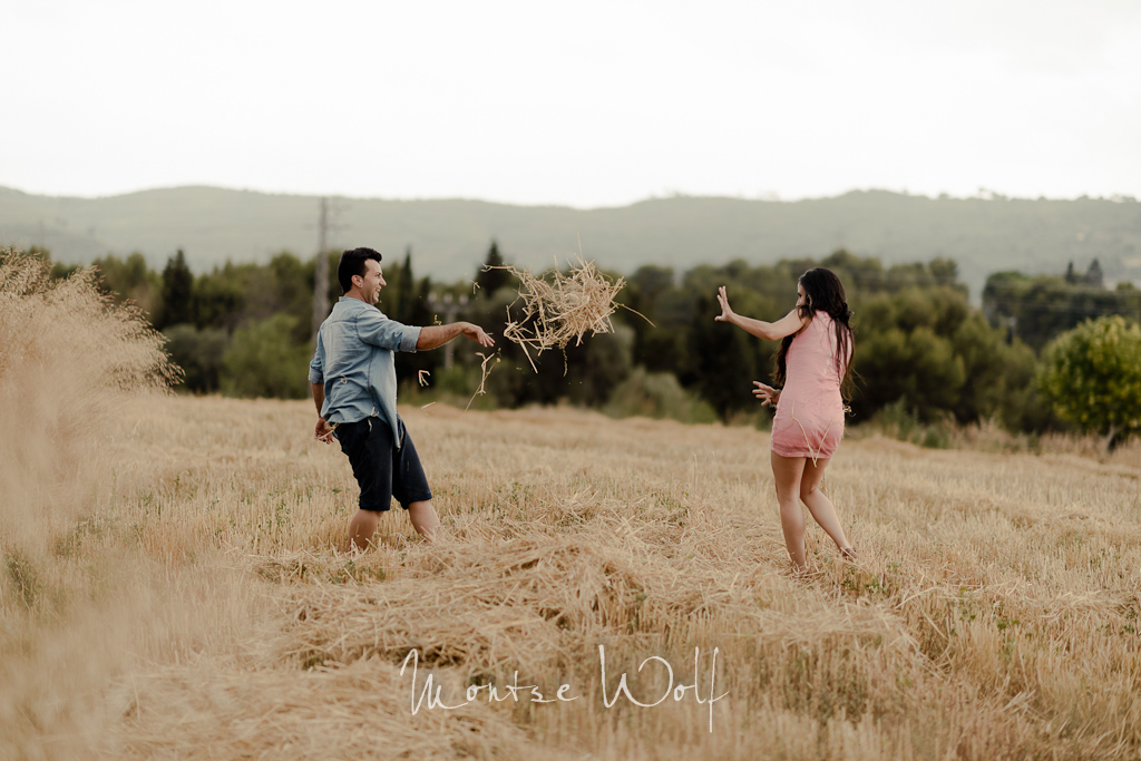 countryside engagement session - preboda en el campo