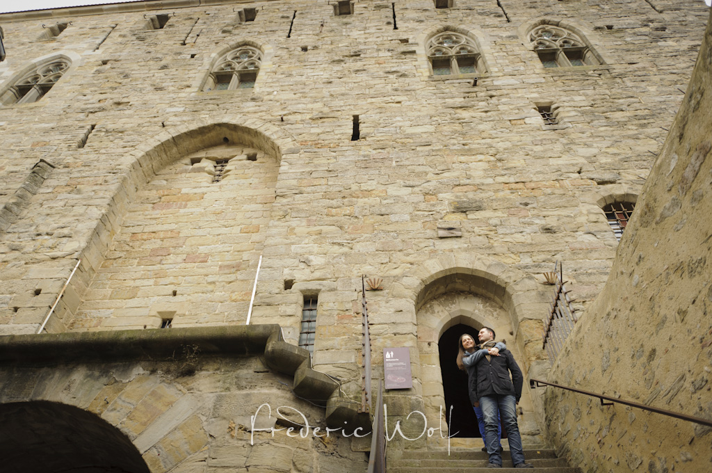 Preboda en Carcassonne - Egagement session  in Carcassonne