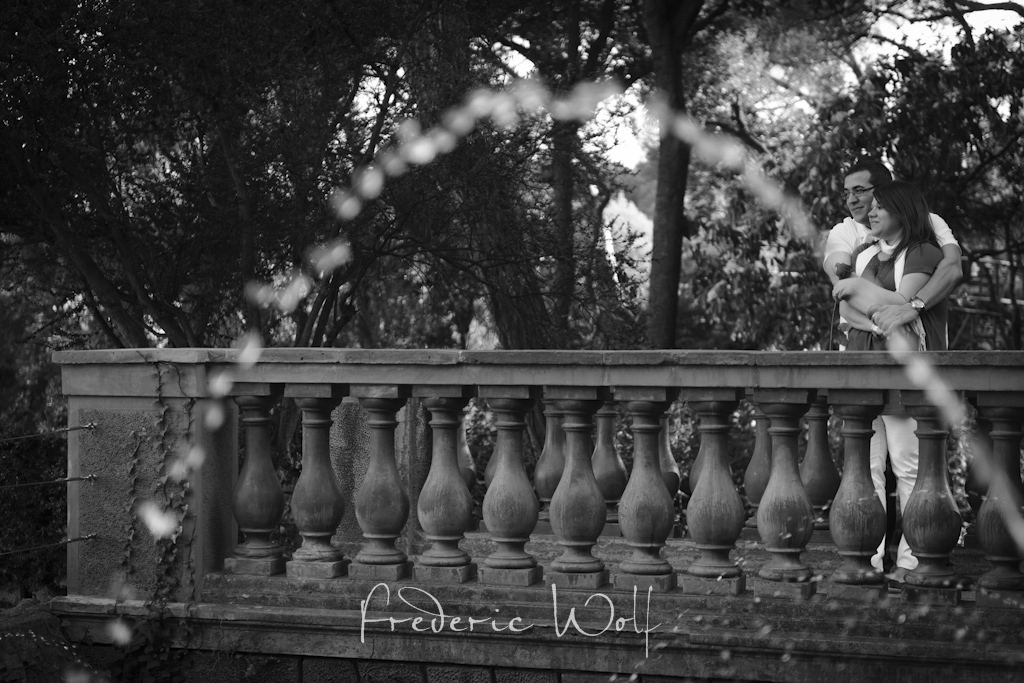 Preboda en el Parc del Laberint - Engagement session